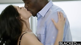 BLACKED British Wife Ava Dalush Loves Big Black Cock!