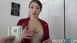 PropertySex - Latina real estate agent with big ass fucking