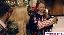 My Family Pies - Horny Sisters Get Brothers Cock For Xmas S1