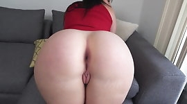 PAWG Spread her Ass and Show her Broke Ass Hole