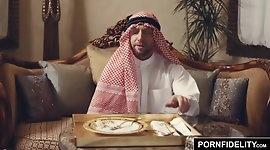 PORNFIDELITY Nadia Ali Rough Muslim Punishment Sex
