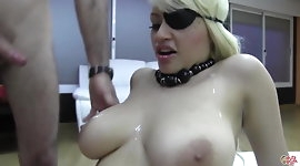 PUTA LOCURA Busty Latina Teen Pirate in amateur gangbang