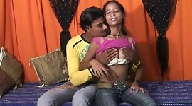 Gorgeus Tina And Raju In A Hot Indian Sex Video