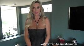 Wifey Deep Throats Big Cock And Swallows Cum
