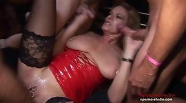 Sperma-Studio: Cumshots Orgy - Marina Part 2