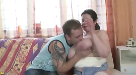 Real mom with huge boobs fuck not her son