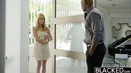 BLACKED Hot Blonde Girl Cadenca Lux Pays Off Boyfriends Debt