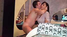 Russian mature mom suck her boy