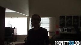 PropertySex - Innocent realtor turns into horny sex demon