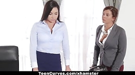 TeenCurves - Keisha Grey Fucks Submissive Secretary