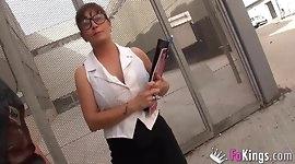 Philosphy teacher films porn with student