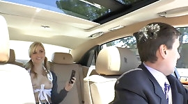 Schoolgirl fucking with the chauffeur