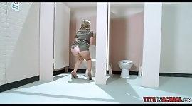 Masturbating in the School Bathroom