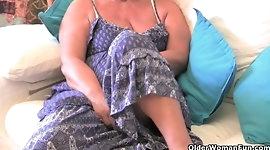 Top 3 British grannies on XHamster