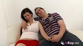 Selling my pregnant girlfriend. Jordi enjoys a future mom