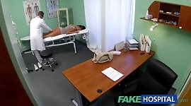 FakeHospital Dirty milf sex addict gets fucked by the doctor