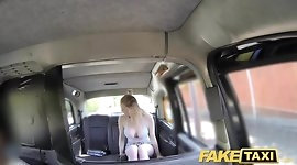 Fake Taxi Cabby tries his beginners luck on hot blonde