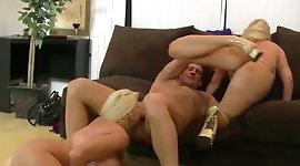 Big Busty Threesome Fuck
