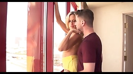Lonely Housewife Fucks Son on Vacation