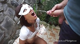 Bruce and Morgan - Piss and Cum Compilation