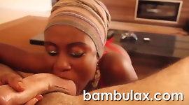 African whore amateur ebony teen blowjob cumshot!