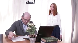 Young Small Tits Hardcore Ruslana fucked by teacher