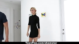 TeenPies- Hot Blondie Filled Up With Cum