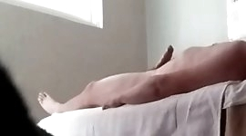 Real masseuse loves my big cock