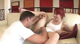Bad girl Ivy Ryder gets punished by rod