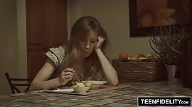 TEENFIDELITY Young Ivy Wolfe Creampied On Her Birthday