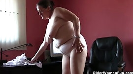 This happens when grandma's knickers and pantyhose come down
