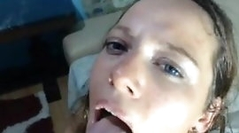 Jizz Mouth with Hard Anal and Face Fuck
