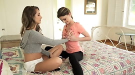 Kristen Scott makes Kimmy Granger curious