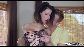 Horny Big Tit Wife Loves a new Dick to play with