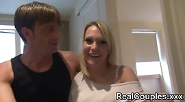 Real Couple Kelly & Pascal - part 1
