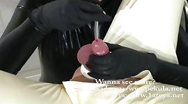 Cum inspection with peehole sound
