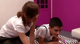 Ainara and Jordi get it on for our webcam community