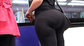 spanish hot fat ass white girl in transparent tights