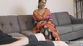 Hindi Mom Sucking Off Sons Bully