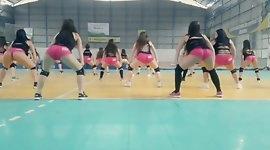 Twerk Jerk Off Challenge: Ass shaking jiggly booty  culonas