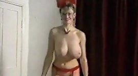 SPIN ME ROUND - vintage 80's big tits dance striptease