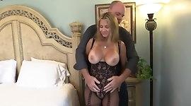 Wife Rio Bodystocking Fuck & Suck!