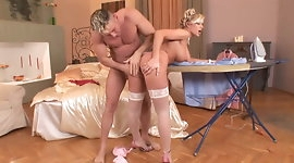 Anal Sex At Home With Busty Blonde