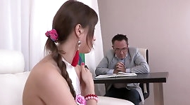 Horny schoolgirl fucks your teacher