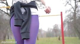 Jeny Smith - pantyhose training