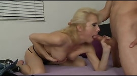 Sexy Mature gives boy a blowjob!!!!