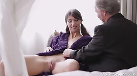 Young Kira was feeling pretty horny and even though this