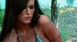 Wicked - Busty brunette Jenna Presley fucks Lisa Ann