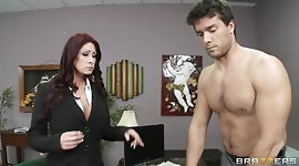 Brazzers - Redhead MILF Tiffany Mynx punished for poor work