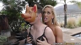 Cherie DeVille enjoys BBC - Cuckold Sessions